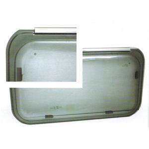 Finestra Polyplastic F20 700x350 Bordo Grigio Finestra