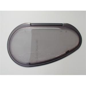 Finestra polyplastic f23 909x485 sagomata ovale grigio - Finestra ovale e finestra rotonda ...