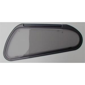Finestra polyplastic f23 1042x403 sagomata ovale grigio - Finestre camper polyplastic ...