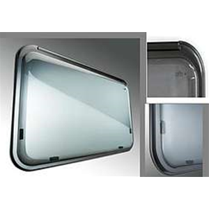 Finestra polyplastic f26 600x550 opaca finestra - Finestre camper polyplastic ...