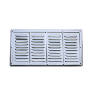 Areatore alluminio anodizzato 510x270 mm aeratori e - Finestre alluminio anodizzato ...