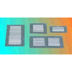 Griglia areazione inox 115 x 127 mm aeratori e griglie - Areatore per finestra ...
