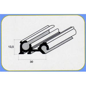 Profilo alluminio portafinestra e oscurante barra 3 mt - Profili ...