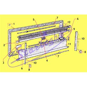 Molla rullo particolare 7 accessori e ricambi finestre seitz camper finestre e ventilazione - Finestre per camper seitz dometic ...
