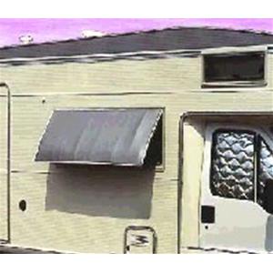 Oscurante termico per finestra con cornice 70x40 cm - Aeratore termico per finestra ...