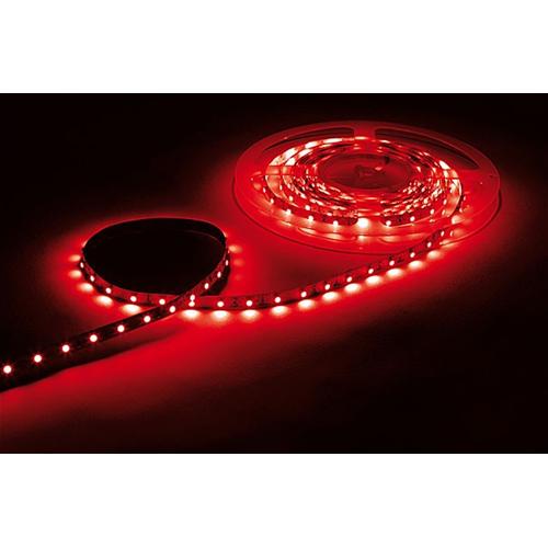 Striscia led adesiva e flessibile 1 mt colore rosso for Striscia led adesiva