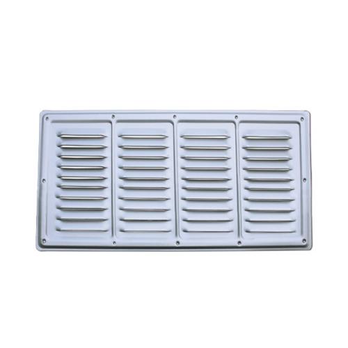 Areatore alluminio anodizzato 360x160 mm finestre e for Finestre in alluminio anodizzato
