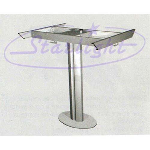Gambe Per Tavoli In Alluminio.Gamba Tavolo In Alluminio Fissa Gambe Tavoli Camper Interni